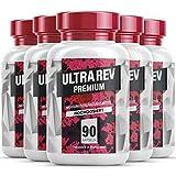 Ultra Rev Premium - Garcinia Cambogia Kapseln mit pflanzlichen und gut verträglichen Inhaltsstoffen| Für Frauen und Männer - 90 Kapseln pro Dose (5 Dosen)