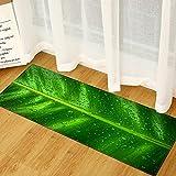 HLXX Moderne Küchenmatte gedruckt Willkommen Fußmatte Teppich Wohnzimmer Flur Balkon Anti-Rutsch-Matten Eingang Bad Teppich Bodenmatte A4 60x180