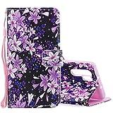 Lilie Muster Horizontales Flip Ledertasche für Huawei P30 Pro, mit Halter & Kartensteckplätze & Geldbörse D