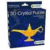 HCM Kinzel 59186 3D Crystal Puzzle-Wunderlampe, Bunt