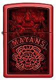 ZIPPO – Mayans MC, Red Matte – Benzin Sturm-Feuerzeug, nachfüllbar, in hochwertiger Ge-schenkbox