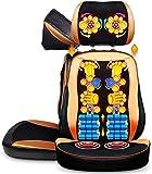 Rückenmassagegerät, Shiatsu-Sitzmassage, Vibrationsmassage, Verstellbarer Massagesitz zum Stressabbau, individueller Rückenmassagestuhl