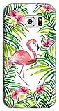 Mixroom M763 Schutzhülle für Samsung Galaxy S6 (Motiv Flamingo)
