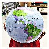 Globus Aufblasbare Globus 16inch Karte Ball Geographie Lernen Lerner Welt Erde Ozean Beach Ball Kinder Geographie Pädagogische Vorräte Globus
