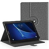 EasyAcc 360 Grad Drehung 10 Zoll Tablet Hülle für TOSCIDO 4G LTE/Qimaoo/FIGE/TYD/vankyo Tablet 10/Dragon Touch K10/CHUWI Hi10 X/Winnovo T10/ALLDOCUBE iPlay10/ACEPAD/Taoera/Victbing TECLAST,Grau