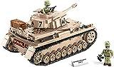 COBI 2546 Panzerkampfwagen IV AUSF.G EIN mittlerer Deutscher Panzer Konstruktionsspielzeug 559 hochwertige Elemente+ Mauspad von Juminox Gratis
