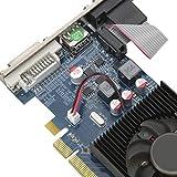 Annadue HD6450-Grafikkarte, 600 MHz 2 GB 64-Bit-Grafikkarte, rauscharm mit PCI Express 3.0-Steckplatz, Desktop-Grafikkarte