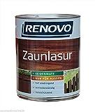 Zaunlasur 4 L Braun Holzschutz Lasur Renovo