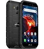 Ulefone Armor X7 PRO (2020), Android 10 Outdoor Smartphone Ohne Vertrag, Quad-Core 4GB+32GB, IP68 Robustes Handy 13 MP Unterwasserfotografie, 4000mAh Akku, NFC/DUAL SIM/Gesichts Entsperrung Schwarz