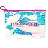 Der original MakeUp Radierer | Microfaser Abschminktuch (Holo Travelbag, pink)