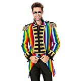 Widmann 59333 - Kostüm Parade, Frack für Männer, Tierbändiger, Rockstar, Zirkusdirektor, Verkleidung, Karneval, Mottoparty