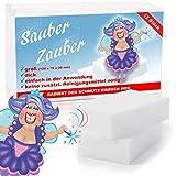 BenniCamp® Schmutzradierer [12 Stück] | CLASSIC Fleckenradierer | 120x70x30 mm | Fleckentferner in XXL | Wunderschw