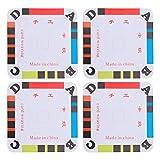 EXCEART 100Pcs Weben Karten Tablet Karton Webstuhl Karten Tablet DIY Tablet Handmade Weben Karte Für Webstuhl Oder Inkle Webstuhl Weben