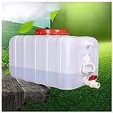 SSWZHANG Camping-selbstfahrer-Tour Wasserbehälter Mit Wasserhahn, 50 / 150l Wasser-Container-Camping Wanderer Wasserspeicher Wasserbehälter Aufbewahrungs-Eimer(Size:45L)