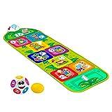 Chicco 9150000000 Jump & Fit Elektronische Hüpfmatte, Interaktives Spiel mit Lichtern und Geräuschen, Musikmatte für zu Hause, 2 Spielmodi, 150 cm, Kinderspielzeug von 2-6 Jahren