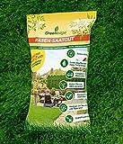 Spielrasen Universalrasen - Rasensamen - für robusten und widerstandsfähigen Rasen - Rasensaat für ca. 180 qm bei Neuanlage / ca. 330 qm bei Nachsaat/ Reparatur (6 Packungen a 1,1 KG)
