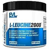 EVLution Nutrition L-Leucine 2000, Unflavored - 200g