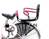 CRMY Kinderfahrradsitz, Sicherheit Kindersitz Fahrrad Fahrrad Kindersitz Kindersattel Mit Fußpedalen Unterstützung Rückenlehne, Kinderfahrradsitz Für Babys Alter 2-8