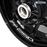Motorrad Reifen Reflektierende Aufkleber Felgenaufkleber für Kawasaki Ninja 250