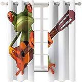 MMHJS Modernes Minimalistisches Drucken Wohnzimmer Vorhänge Schlafzimmer Wärmeisolierung Jalousien Freie Perforation Einfach Zu Installierende Balkonfenster