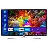 MEDION X14350 108 cm (43 Zoll) UHD Fernseher (Smart-TV, 4K Ultra HD, Dolby Vision HDR, Micro Dimming, MEMC, Netflix, Prime Video, WLAN, Triple Tuner, DTS, PVR, Bluetooth)