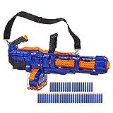 Nerf Elite Titan CS-50 Spielzeug Blaster – Vollautomatisch, 50-Dart Trommelmagazin, 50 Nerf Elite Darts, rotierender Lauf