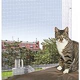 Trixie 44313 Schutznetz, 3 × 2 m, transparent