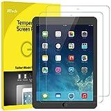 JETech Panzerglas Kompatibel mit iPad (9,7-Zoll, 2018/2017 Modell, 6./5.Generation), iPad Air 1, iPad Air 2, iPad Pro 9,7-Zoll, Gehärtetem Glas Displayschutzfolie, 2 Stück