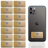 HEALANCY BIOMEDICAL - EMF Schutz Neutralisierer - Protection für Smartphone/Handy sowie andere elektronische Geräte - 14 Stück, 5G optimiert, elektromagnetische Felder, Elektro-Allergie, Abschirmung