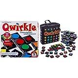 Schmidt Spiele 49311 Qwirkle, Legespiel & 49270 Qwirkle Travel, Spiel des Jahres 2011 als Reisespiel, b