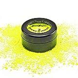 Stargazer Neongelber Augenstaub, vegane und parabenfreie Formel, die unter UV-L