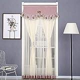 Dongbin Perlenvorhänge, Vorhang Holztür, Vorhang mit Perlen Perlen Cord, Von-Tür-Vorhang Jalousien Porch Wohnzimmer Divider1PCS,A,80 * 200