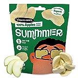 Leckere Gefriergetrocknete Apfelscheiben (55g) - 5 Snackbeutel, Ohne Zuckerzusatz, 100% Natürlicher Gefriergetrockneter Fruchtsnack für Kinder & Erwachsene - Nachhaltig Angebaut - Äpfel für Lunchboxen