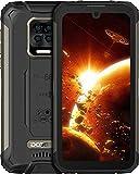 DOOGEE S59 Pro (Offiziell) Outdoor Handy 10050mAh Smartphone Ohne Vertrag 2W Super Lautsprecher 4 LED Blinkt Globales Frequenzband 4GB RAM 128GB ROM Android 10 NFC IP68/IP69K [2021] (Schwarz)