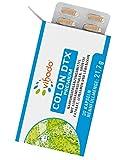 Vihado Colon DTX Premium – pflanzliche Kapseln mit Löwenzahn, Flohsamenschalen-Pulver und Grüner Tee Extrakt – bewährte Pflanzenstoffe – natürlich und vegan – 30 Kapseln