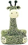Sessel NUBAO Spielzeug Soft-Tier-Sofa, Mini-Bodenstuhl, Themen-Giraffe für 1-5 Jahre alte Kinder Sitzsack 50 × 45 × 85 cm (Farbe: b) (Color : B)
