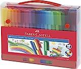 Faber-Castell 155560 Filzstift Connector, im Koffer, 60 Stück