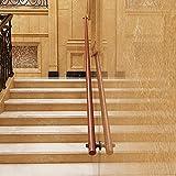 Pkfinrd Wandtreppe Handlauf, rutschfeste Treppengeländer, Korridor-Handlauf, geeignet für Villen, Bars, Treppen (Size : 3ft)