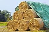 Land-Grid V01 Strohvlies, Abdeckvlies, Schutzvlies für Stroh, Getreide, Heu, Kompost, 140g/m² - 9,8 x 12,5