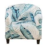 BXFUL Sesselhusse Stretch Cocktailsessel Hussen, Sesselschoner Couch Überwurf Sesselbezug Sesselüberwurf elastisch Sessel Überzug für Cafe (11)