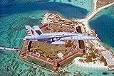 Fort Jefferson Key West Florida USA Puzzle für Erwachsene Reisegeschenk Souvenir aus Holz , 1000 Stück 75 × 50 cm
