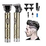 Haarschneidemaschine Profi Friseur Haarschneider für Herren, Langhaarschneider Bartschneider Schnurlose Elektrisch Haartrimmer, Wasserdichter Präzisionstrimmer Barttrimmer für Männer (Buddha Kopf)