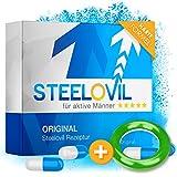 *𝗘𝗜𝗡𝗙Ü𝗛𝗥𝗨𝗡𝗚𝗦𝗣𝗥𝗘𝗜𝗦* Steelovil 2.0   EXTREM   für Männer   Qualität aus Deutschland   12 Kapseln