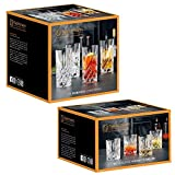 Spiegelau & Nachtmann Nobelesse Set 4X Whiskybecher + 4X Longdrink Gläser