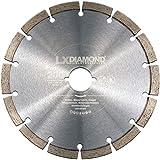 LXDIAMOND Diamant-Trennscheibe 200mm für Beton Mauerwerk Universal Diamantscheibe kompatibel mit Lamello Tanga DX200 F