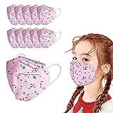 VCTKLN FYSL 20 Stück Mund- und Nasenschutz für Kinder, YSLSTORE 5-lagiger Schutz