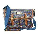 T & S , Damen Tornistertasche , Mehrfarbig - Sausage Navy - Größe: M