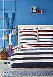 NAUTICA Home Finn, Bettwäsche, 100 % Baumwolle, 200 x 200 cm + 2 Kopfkissenbezüge 65 x 65 cm