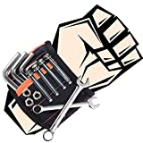 Mitening Männer Geschenke Magnetisches Armband, Magnetarmband Handwerker Armbänder mit 20 Leistungsstarken Magneten, Vater Tischler Papa Gadgets Geschenk für Halten Werkzeuge Schrauben Nägel Bohrernn