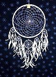 Hejoka-Shop NEU Riesen Indianer Traumfänger XXL 42/85 cm. Weiss Dreamcatcher Snow White Fotoshooting EDEL